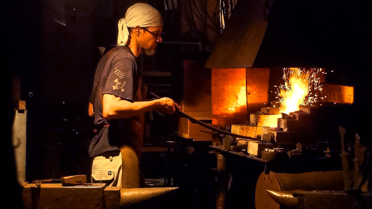 You Need A Japanese Swordsmith's Hammer - Crossed Heart Forge