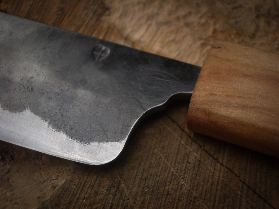 Island Blacksmith: Hand forged reclaimed knives