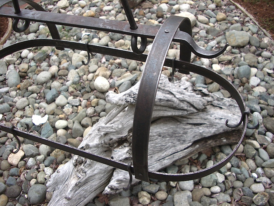 Vancouver Island Blacksmith: Hand forged ironwork.