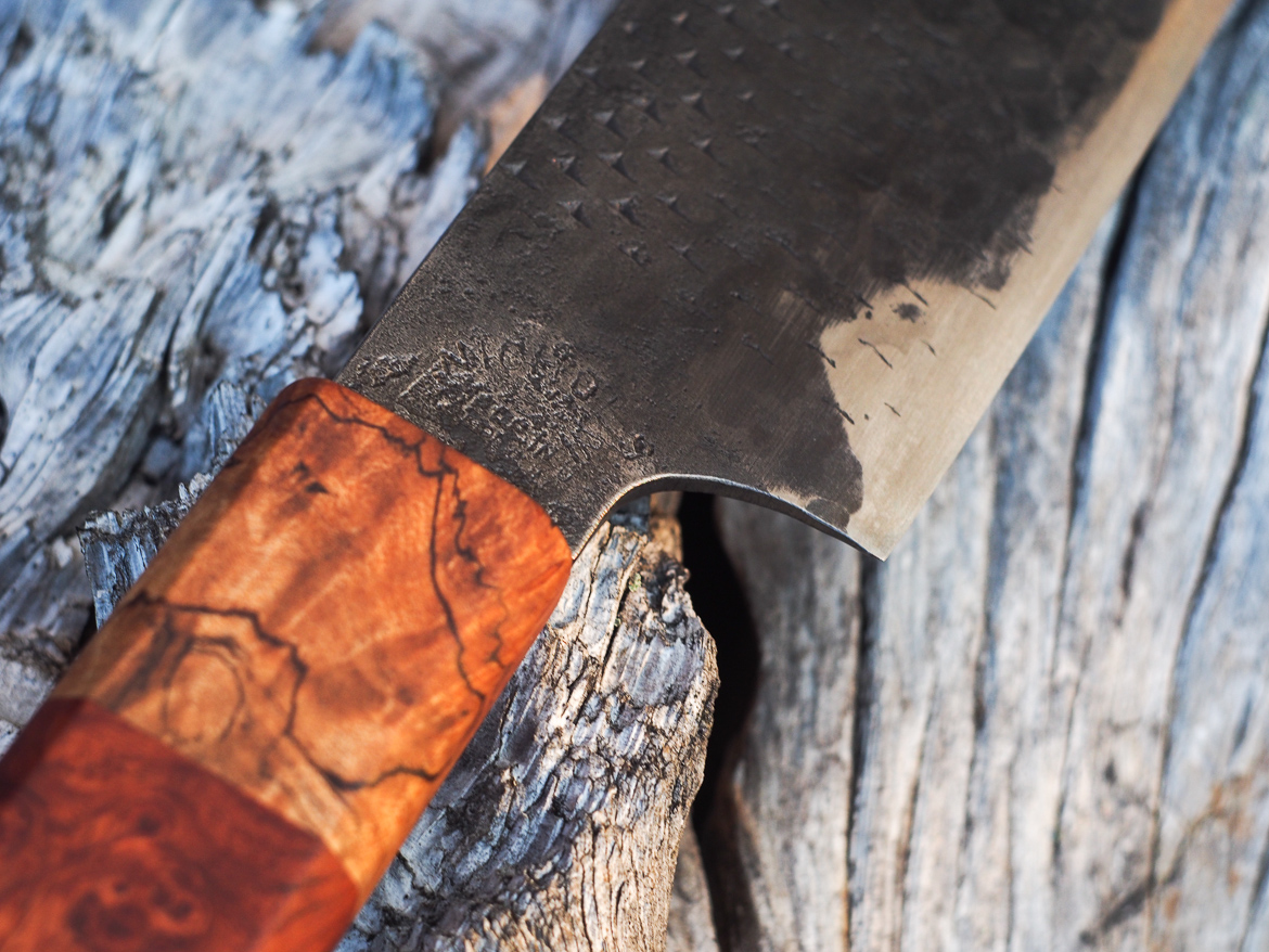 Island Blacksmith: Hand forged knives from reclaimed materials