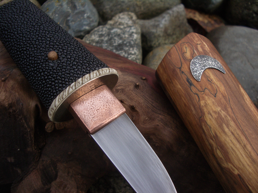 Island Blacksmith: Hand forged reclaimed knives made from farm equipment