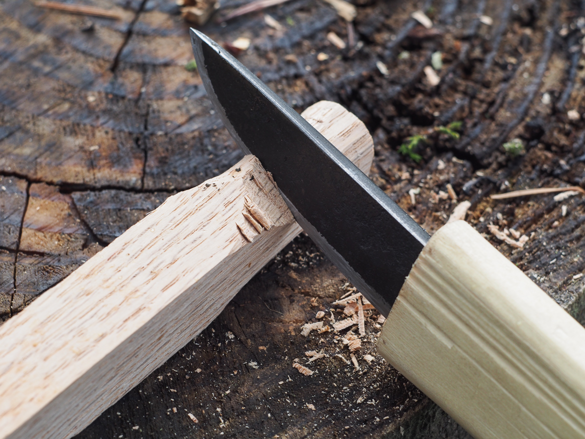 Island Blacksmith: Hand forged knives made from reclaimed and natural materials