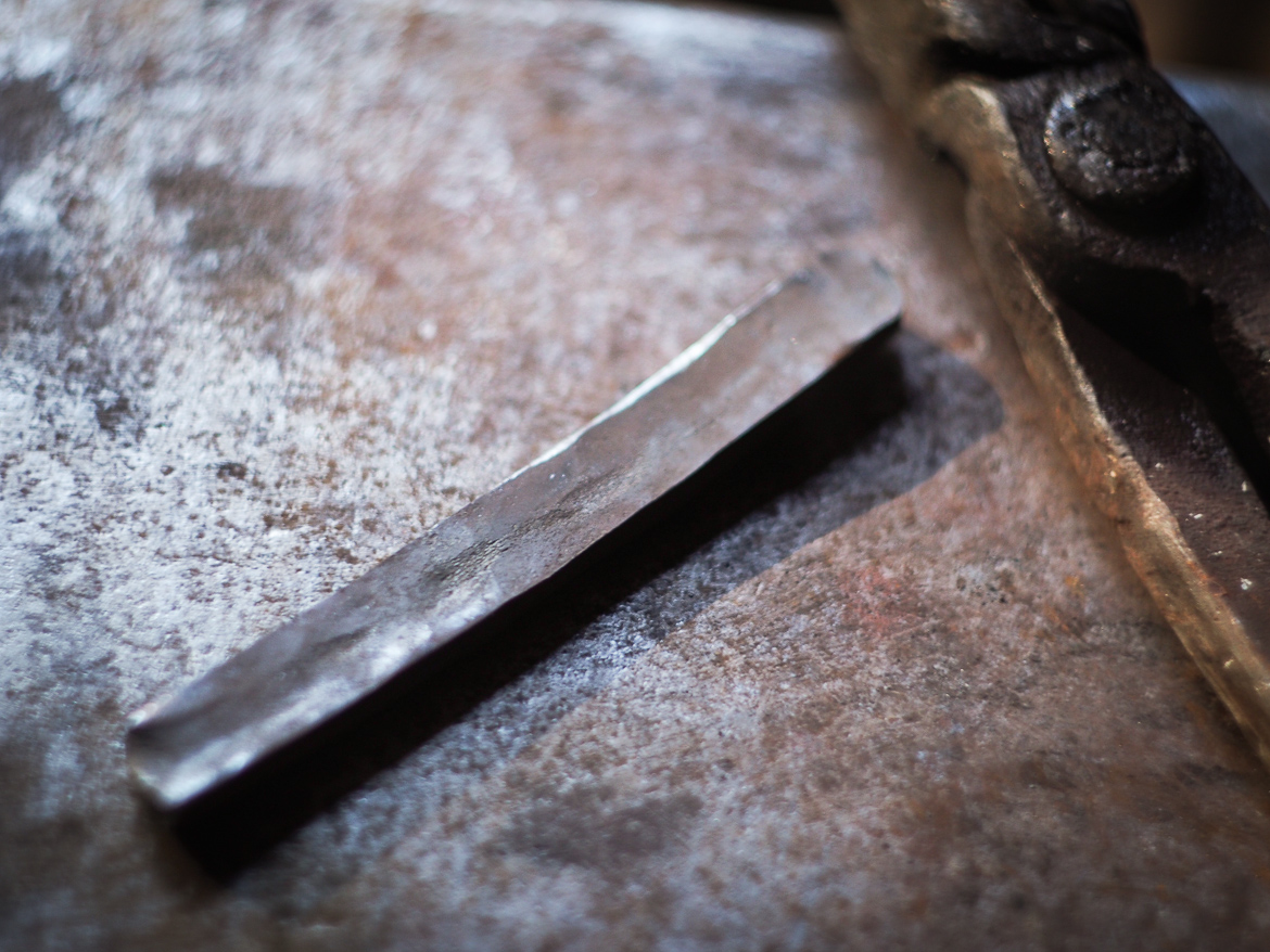 Island Blacksmith: Hand forged kotanto made from reclaimed and natural materials