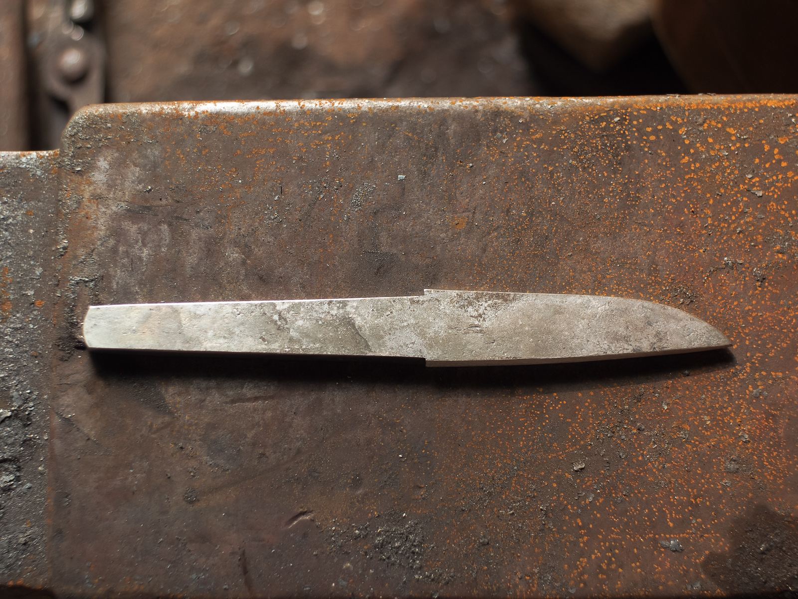 Island Blacksmith: Hand forged knives from reclaimed shear steel.