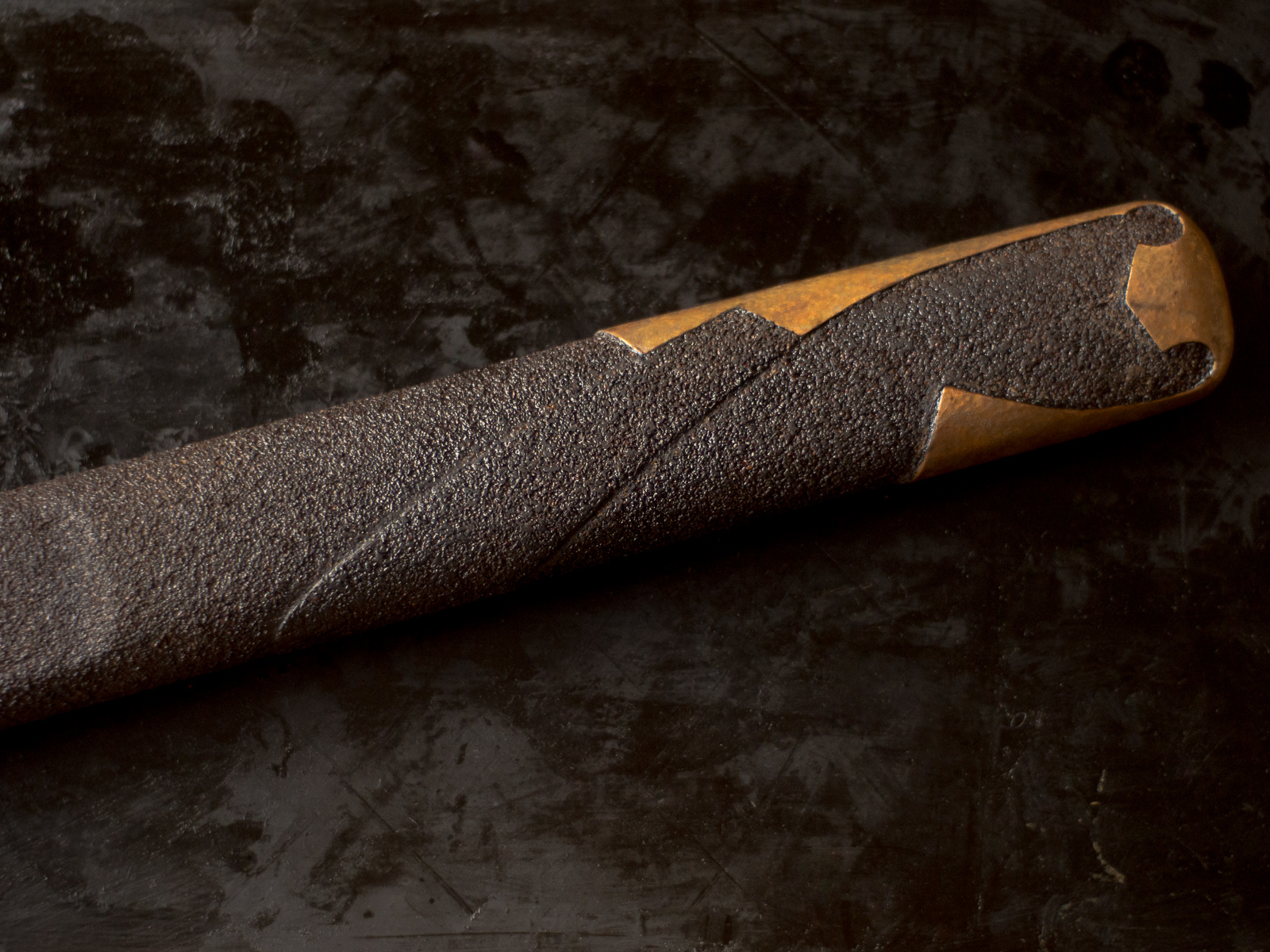 Island Blacksmith: Charcoal forged nihonto made from reclaimed and natural materials using traditional techniques