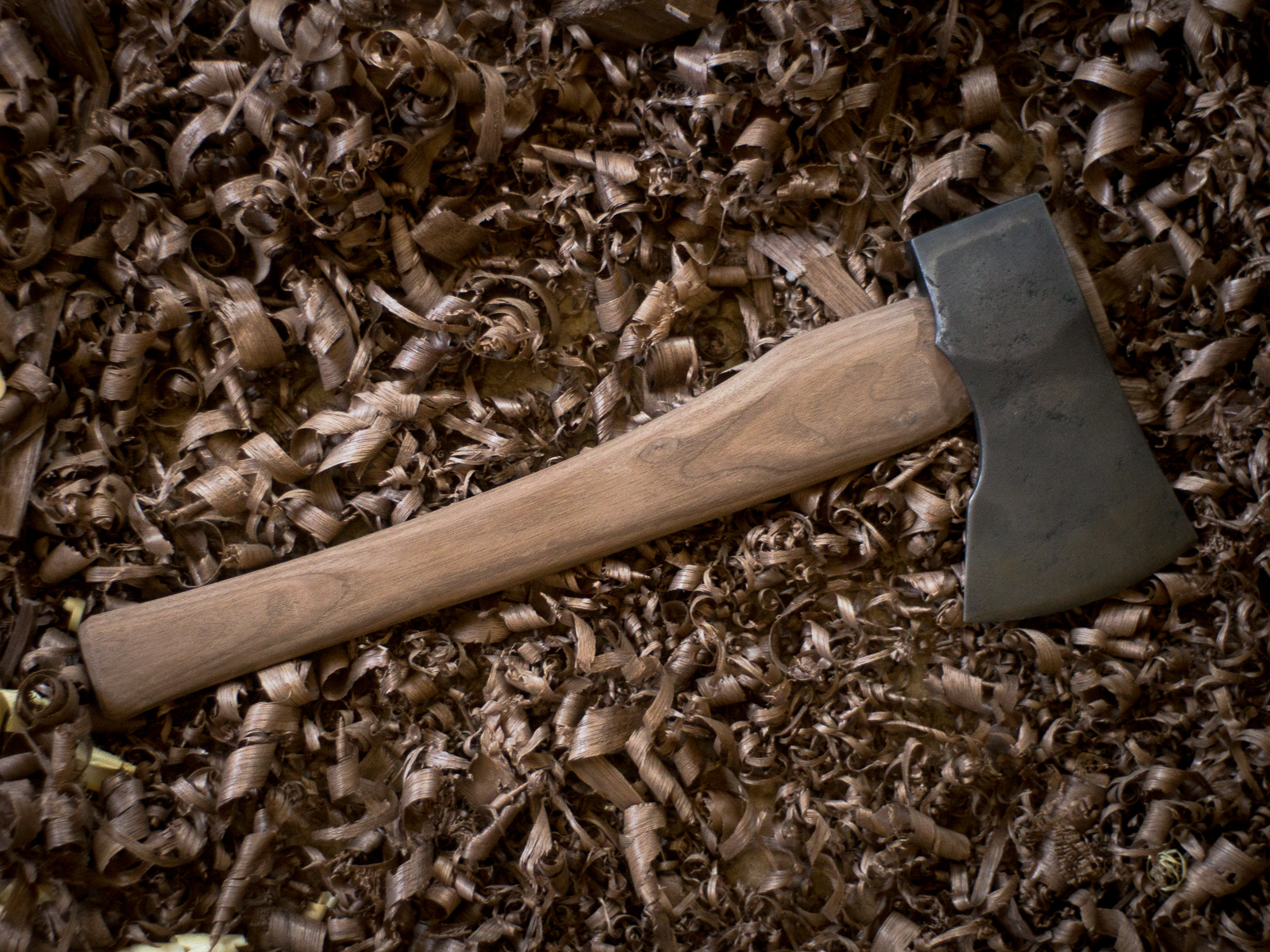Making a Hatchet Handle - Crossed Heart
