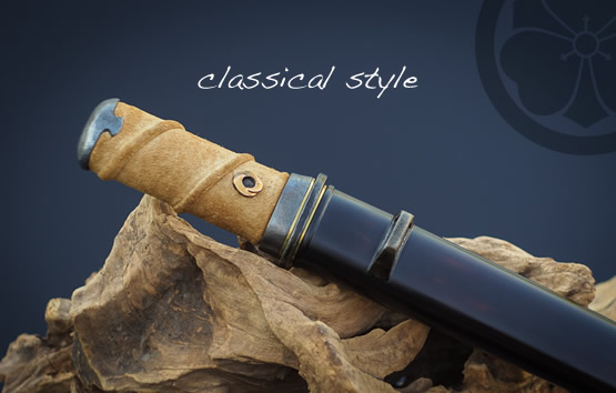 Classical Style Tanto: Hand crafted in Canada.