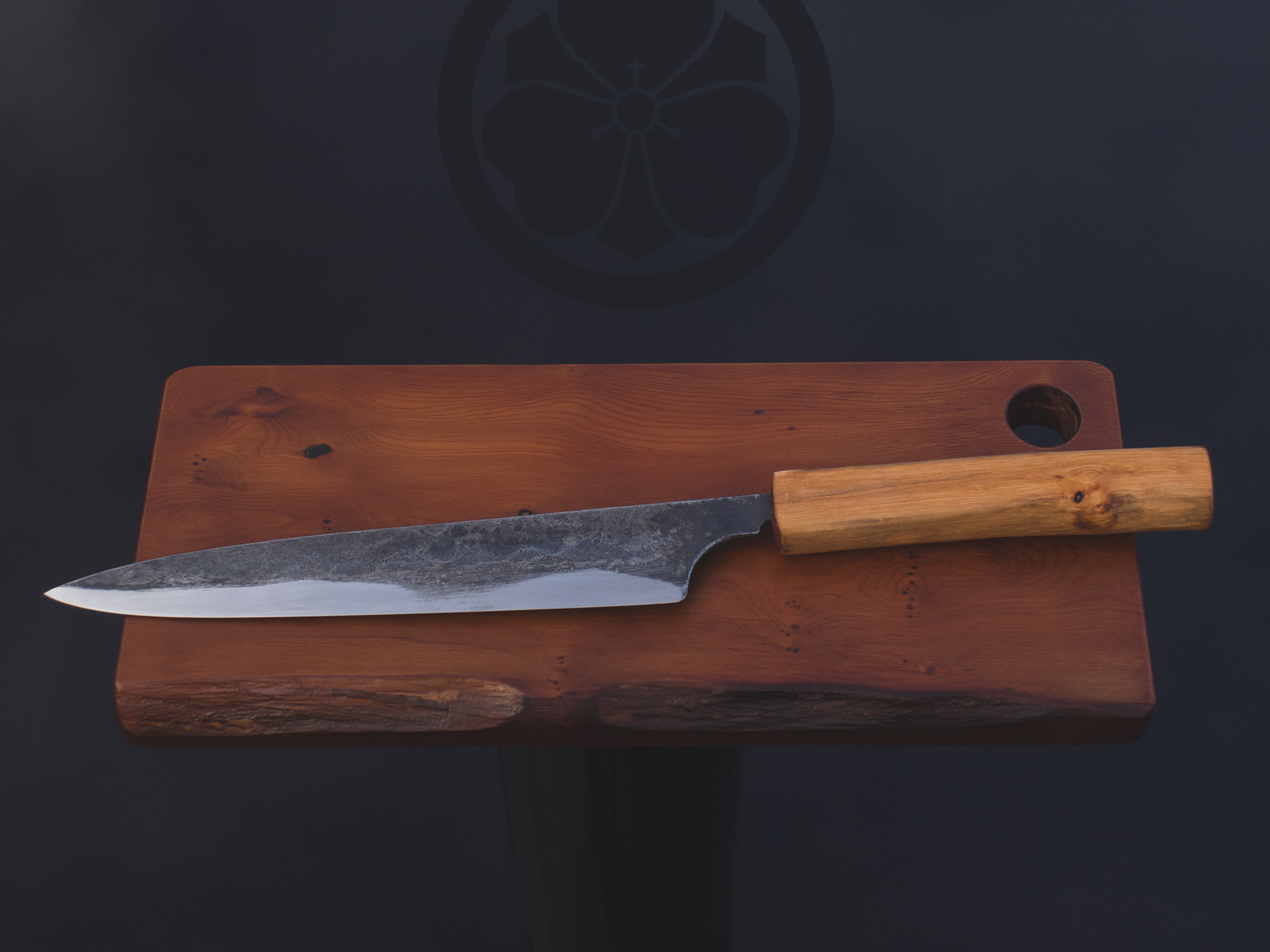 Island Blacksmith: Hand forged knives made from reclaimed steel