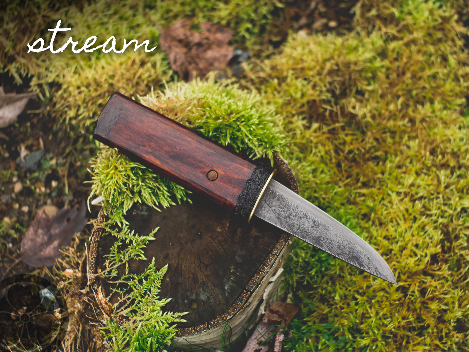 Tools for Satoyama: Design your own knife, hand crafted on Vancouver Island.