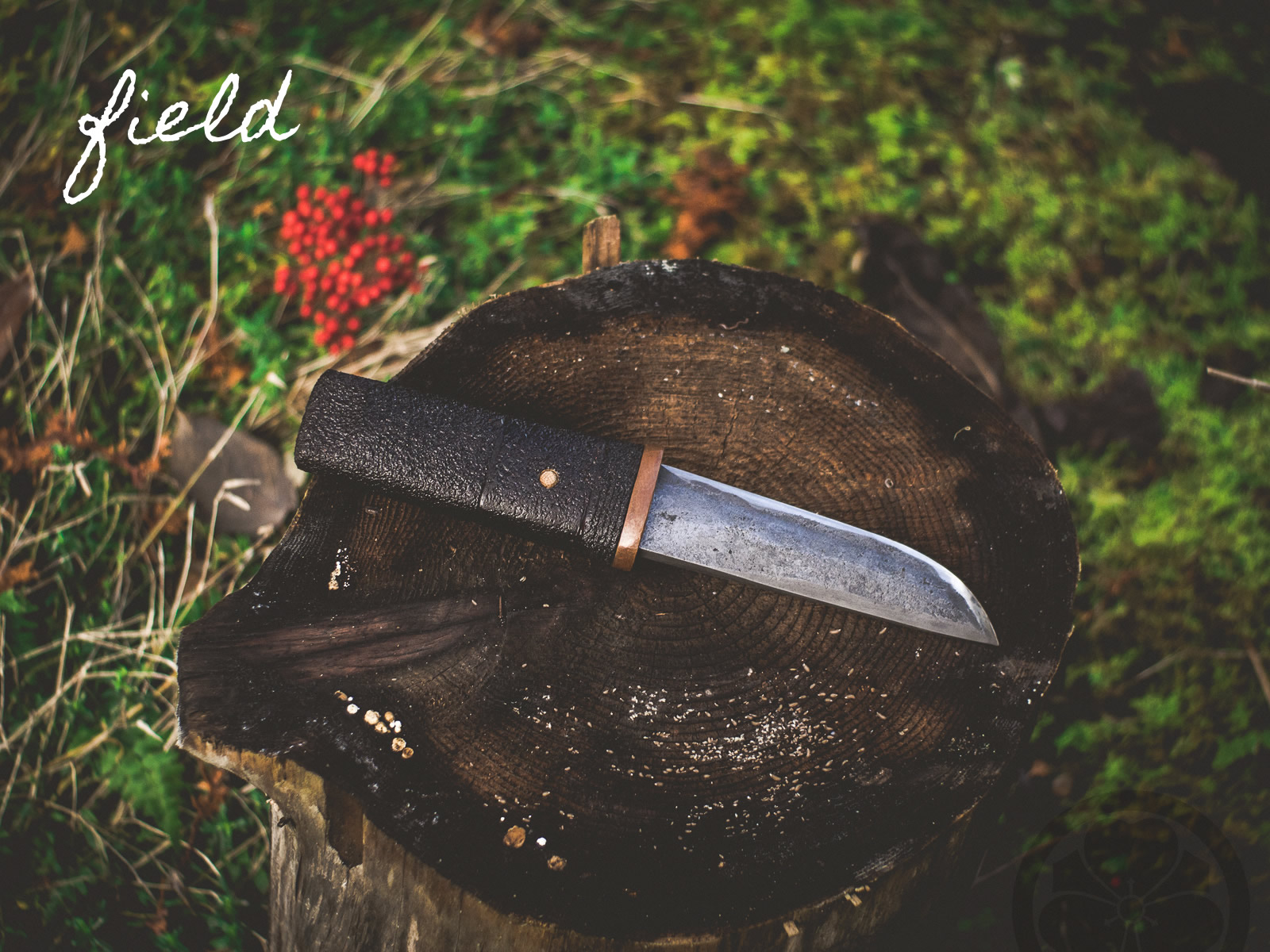 Island Blacksmith: Design your own charcoal forged knives made from reclaimed steel.