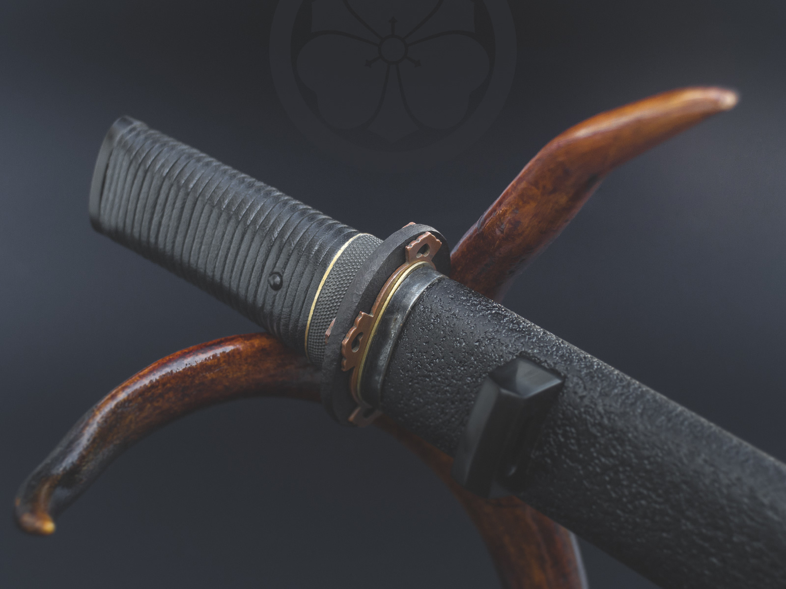 Island Blacksmith: Hand forged tanto made from reclaimed and natural materials using traditional techniques