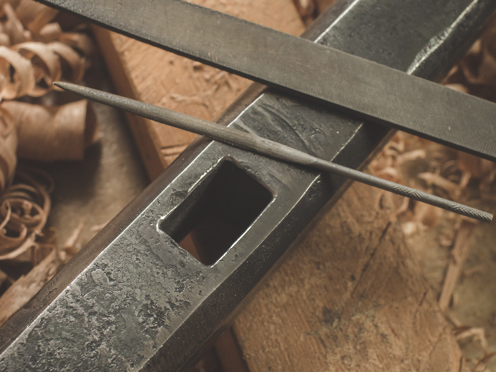 Island Blacksmith: Traditionally crafted knives from reclaimed steel.
