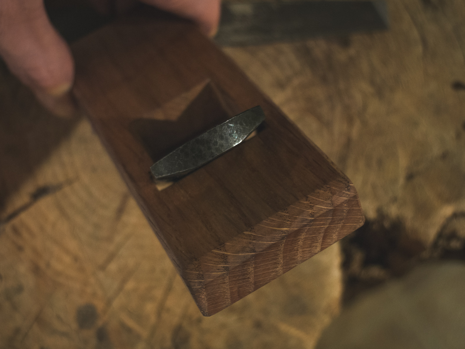 Island Blacksmith: Hand crafted tools made from reclaimed and natural materials using traditional techniques