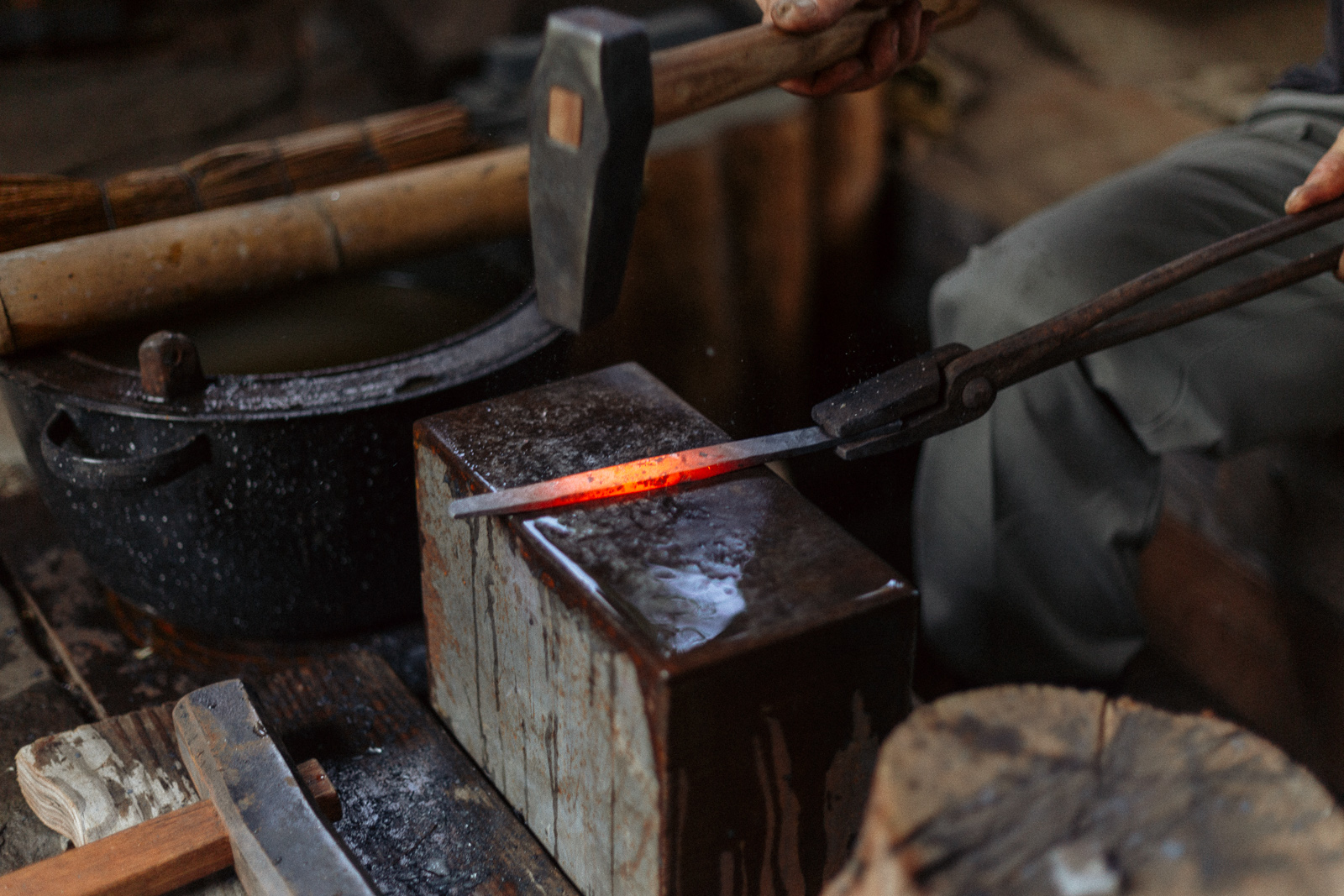 Island Blacksmith - Crossed Heart Forge