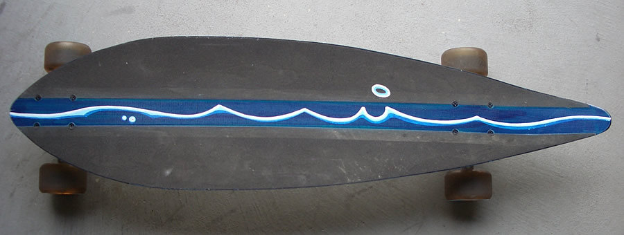 skateboard art by davej